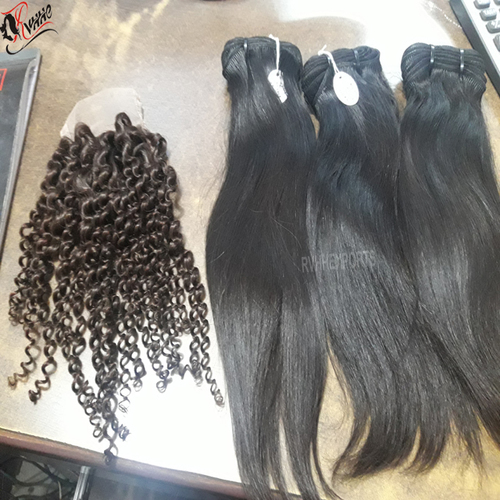 Wholesale 100% Natural Raw Indian Human Hair