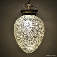 MOSAIC HANGING,DECORATIVE RESIDENTIAL HANGING,BALL MED HANGING,FROST EXTRAA BIG HANGING,MOSAIC GLASS HANGING,LUSTER HANGING