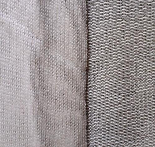 Terry 2 thread fleece fabric