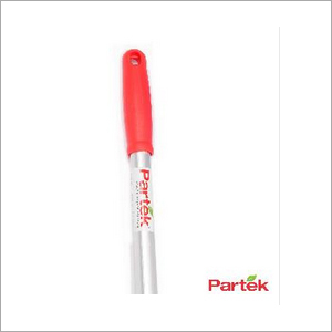 Partek Aluminum Handle 140 Cm Long With Screw And Red Grip AH05R