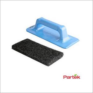 Partek Besto Hand Tool Black Scrub Pad Hard Abrasive ST02 AP25BL