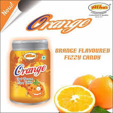 ORANGE FIZZY CANDY