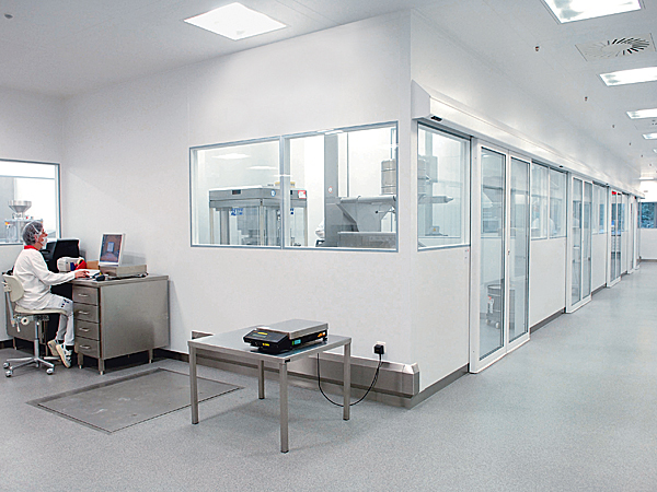 Clean Room Partitions