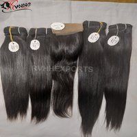 Natural Indian Human Hair Virgin Remi Indian Hair