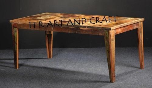 vintage wooden center table