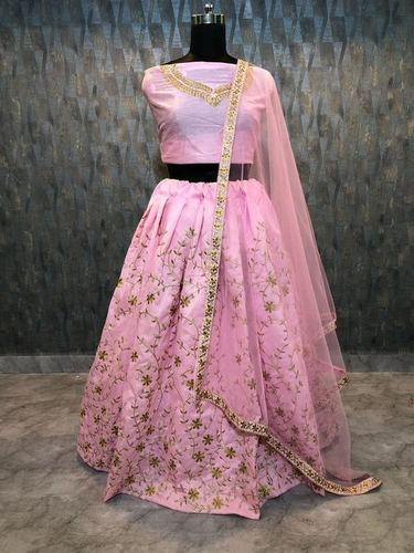 Latest Designer Pink  Wedding Lehenga