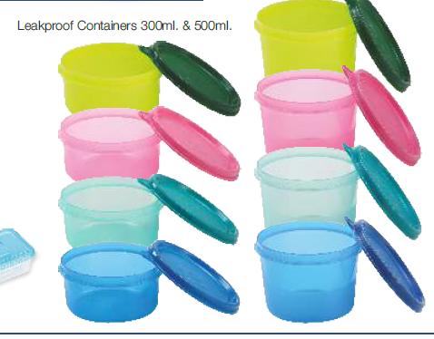Leak Proof Plastic Container