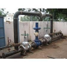 Steam Pressure reducing Valve (PRV) Station