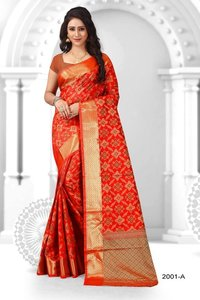 South Festival Banarsi Silk Sarees