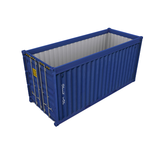 20 ft Open Top Cargo Store Shipping Container