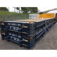 40 ft Collapsible Flat Track Container