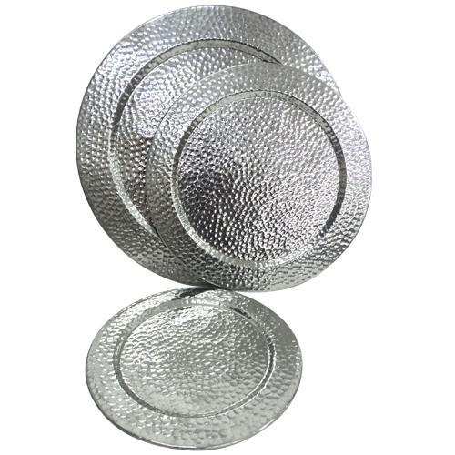 Aluminium Round Shape Tray