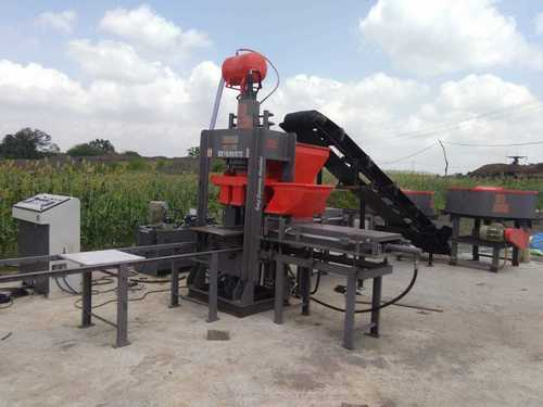 1 Fully Auto Fly Ash Bricks & Block Making Machine
