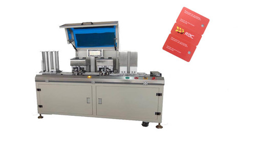 Key Tag Card Punching Machine