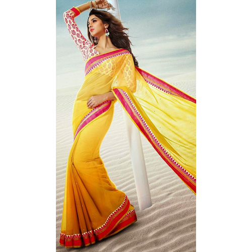 Ladies Plain Sarees