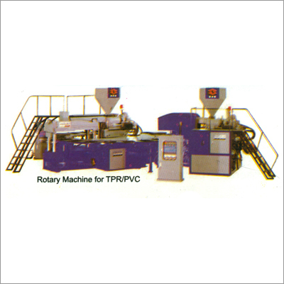 Rotary Machine for TPR-PVC