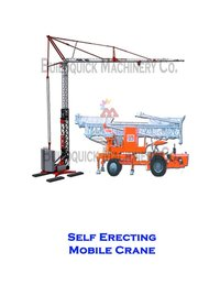 Self Erecting Mobile Crane