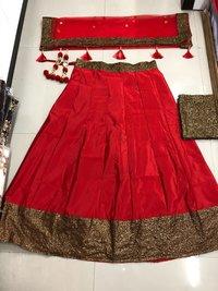 Sequins Work Lehenga  Choli