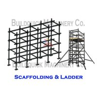 Sacffolding and Ladder