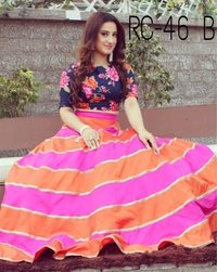 Party Weae Pink Lehenga Choli