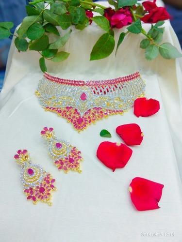 Designer Choker Necklace Set