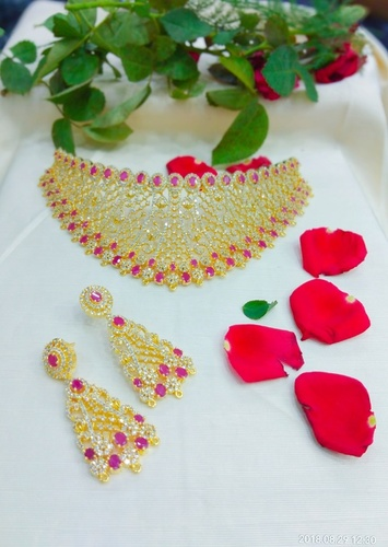 Ladies Choker Necklace Set