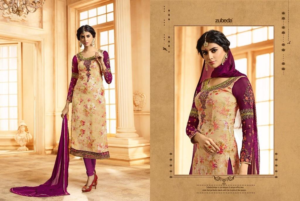 Aaditri Hand Block Printed Suit