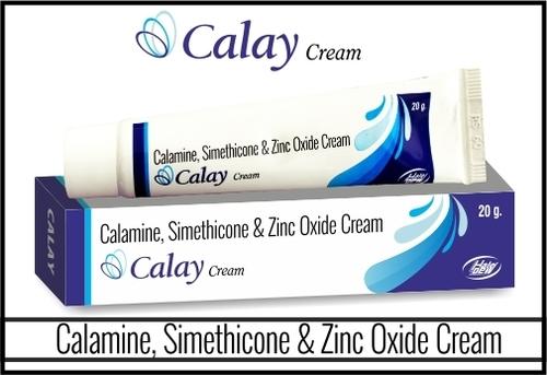 Calamine + Simethicone + Zinc Oxide