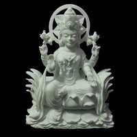 White Marble Goddess Laxmi Statue