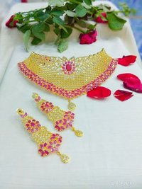 Ethnic Choker Necklace Set