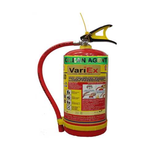 6 Kg Clean Agent Type Extinguisher