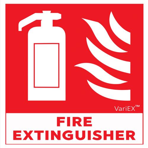 Fire Extinguisher Signage Board