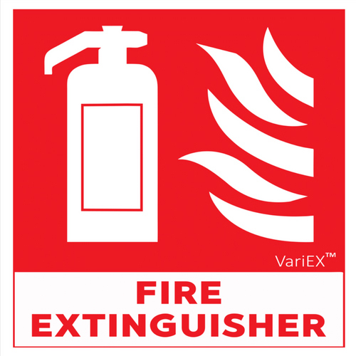 Fire Extinguisher Signage Board