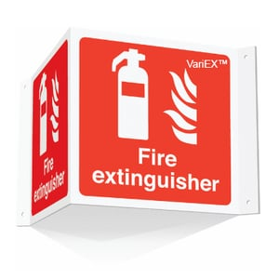 Fire Extinguisher 3D Signage Board