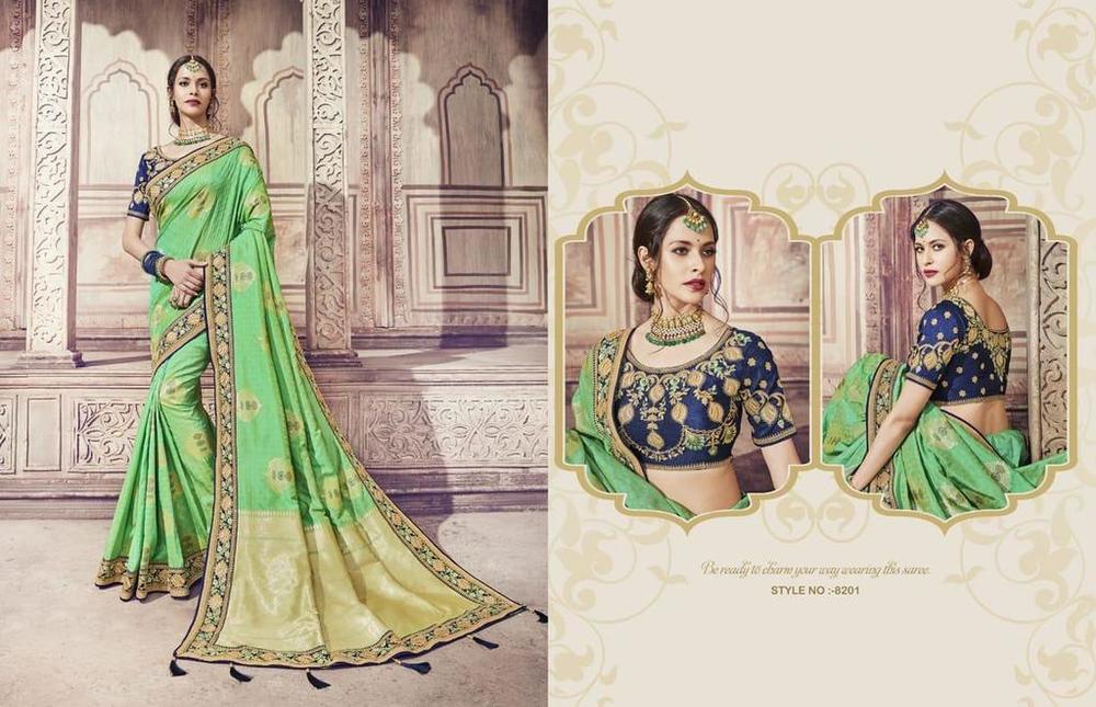 Heavy Banarasi Silk Sarees