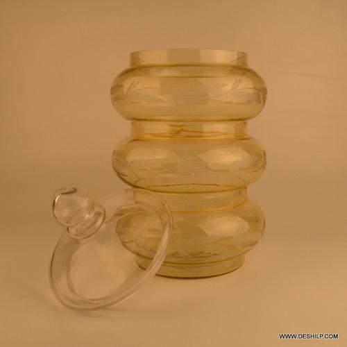 THREE RING Glass jar Decorative Glass Jar with lid Mason Jars Squash & Juice Glass Bottle