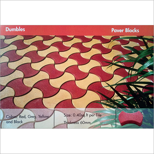 Dumbles Paver Blocks