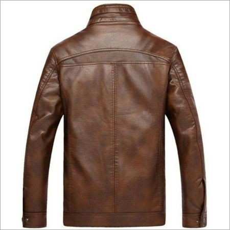 Brown Mens Leather Jacket