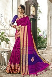 Banglore cotton silk saree