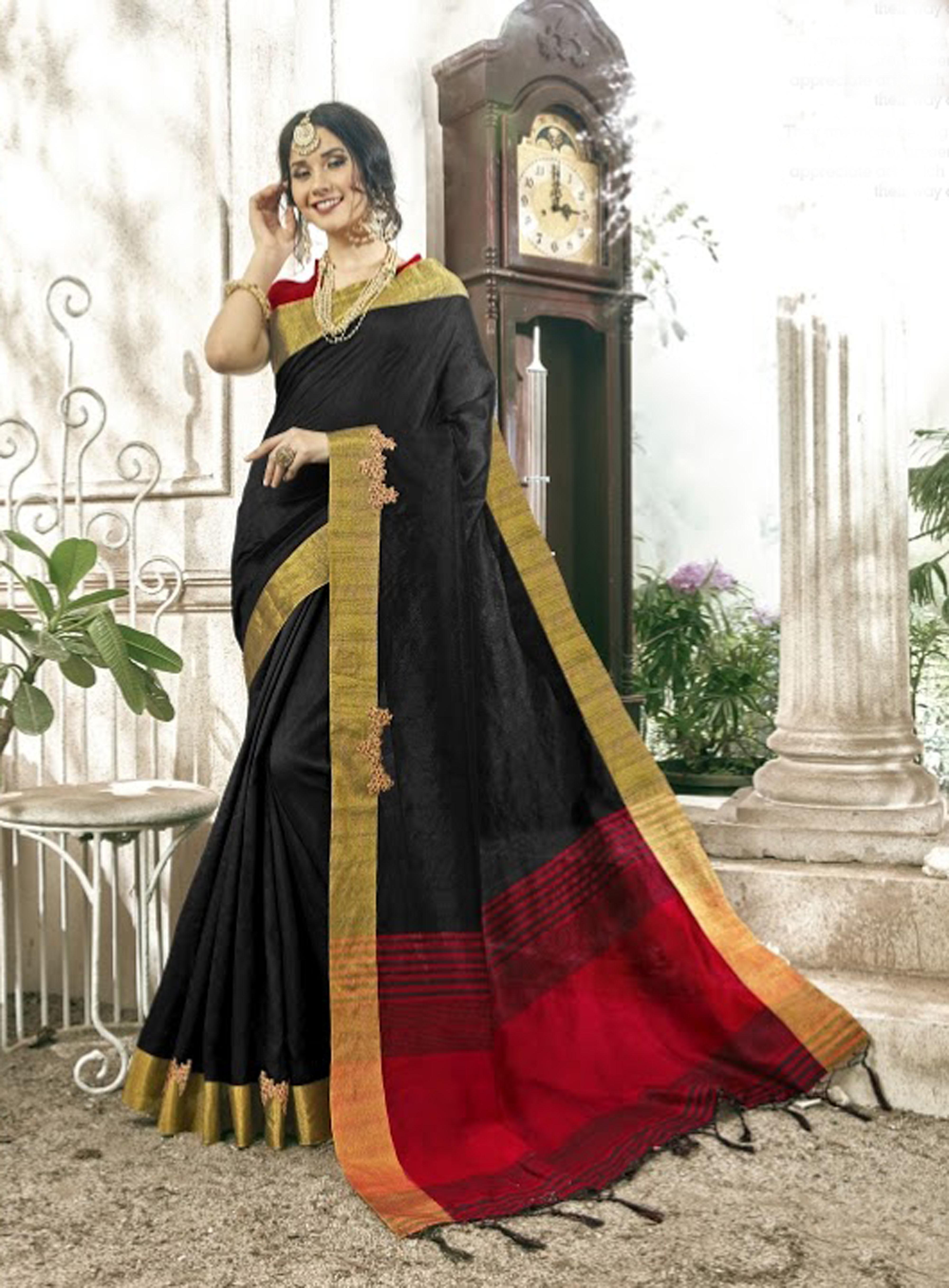 Banglore cotton silk saree