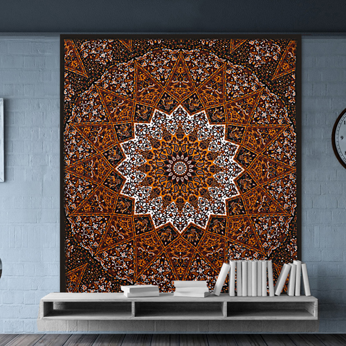 Pigment Printed Wall Hanging