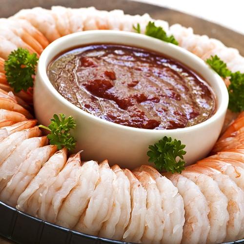 Vannamei White Shrimp Rings & Wedges