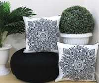 Velvet Cushion Covers Combo Set