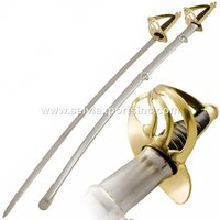 American Trooper Cavalry Saber Shot