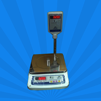 Table Top Scale -Metal Body Pole Display Scale