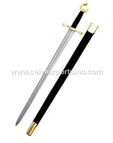 European Medieval Sword Length: 43 Inch (In)