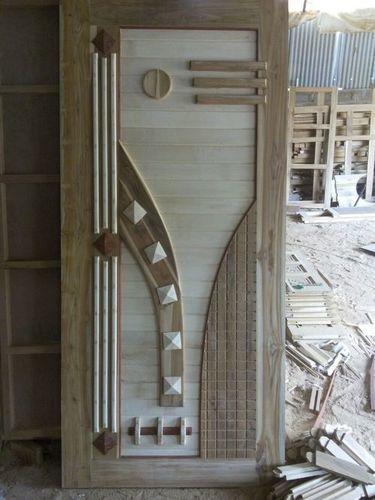 Sunmica Wooden Door