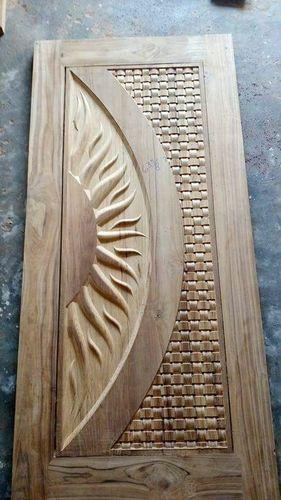 Sun Design Wooden Door