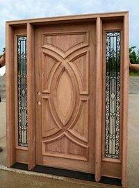 Exterior Wooden Door
