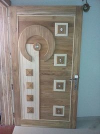 Decorative Modern Wood Door